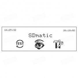 Interfaz de usuario del equipo SDmatic para la medición del almidón dañado en harinas, trigos y sémolas