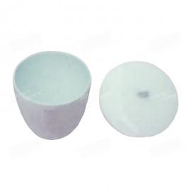 Crisol de porcelana vitrificada para método oficial de cenizas en harinas de trigo