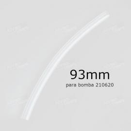 Tubo de bomba para Glutomatic 2200 3x1 93mm para bomba 210620