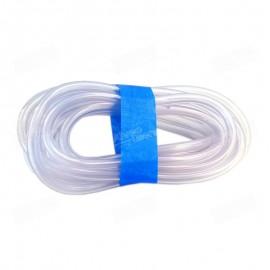 Tubo neumático transparente para el circuito de generación del caudal de aire de inflado del Alveógrafo