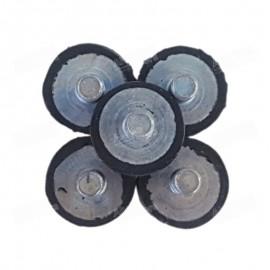 Pies antivibratorios para la bomba del antiguo modelo de los Alveógrafo NG y también los descontinuados MA-82, MA-87 y MA-95