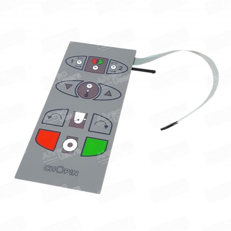 Teclado de panel de mando de amasadora para el equipo alveográfico AlveoNG
