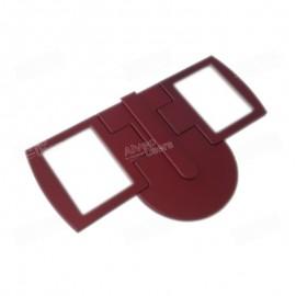 Puerta doble de la cámara de reposo de los pastones del AlveoNG y AlveoPC