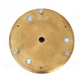Platina inferior equipada indicada para los equipos alveográficos descontinuados MA-82, MA-87 y MA-95