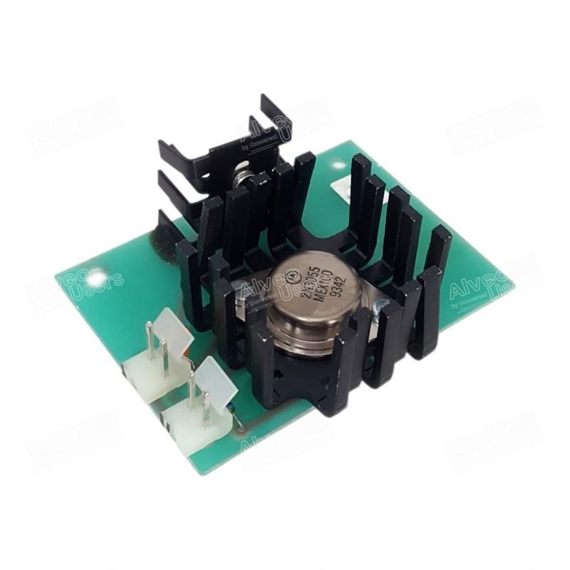 Placa electrónica de alimentación del cronómetro de la parte amasadora de los equipos alveográficos MA-82, MA-87 y MA-95