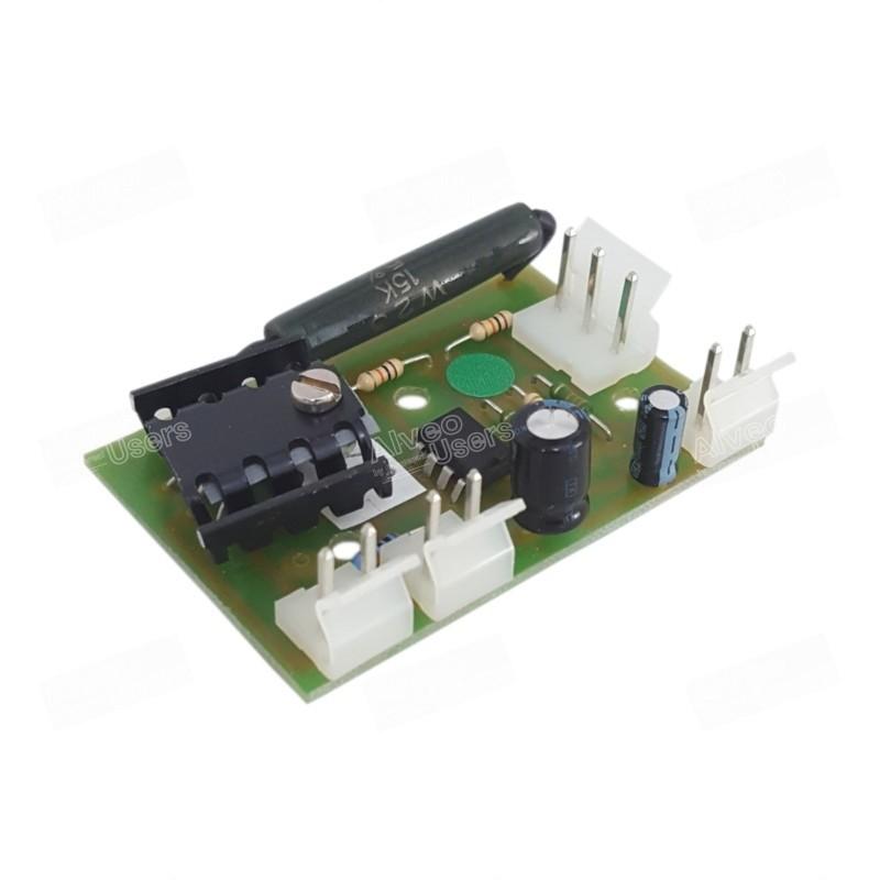 Placa de regulación de temperatura para la amasadora de los equipos alveográficos MA-87 y MA-95 y para el Reofermentómetro F2