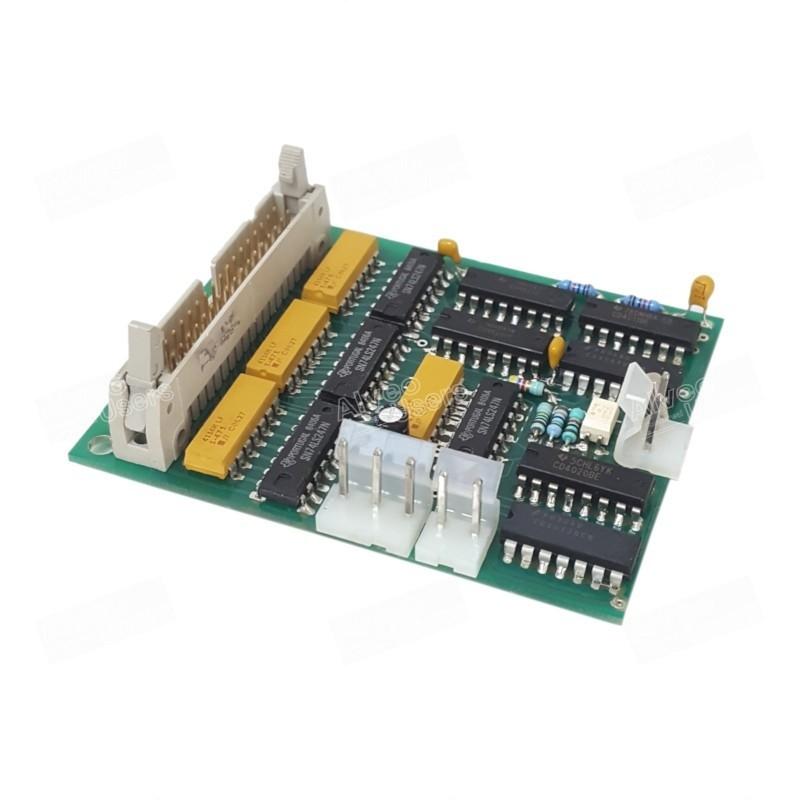 Placa electrónica del cronómetro de la parte amasadora de los equipos alveográficos MA-82 y MA-87