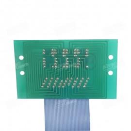 Placa de display para la parte amasadora de los equipos alveográficos MA-87 y MA-95