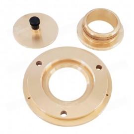 Platina 3 piezas de Alveógrafo componentes