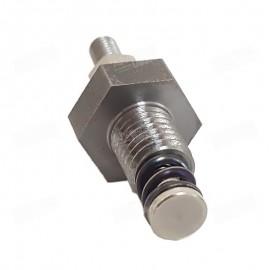 Amortiguador de la unión del pistón metálica