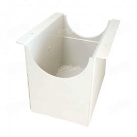 Cajón con soporte para la recepción de harina resultante del proceso de compresión para el equipo Molino CD1