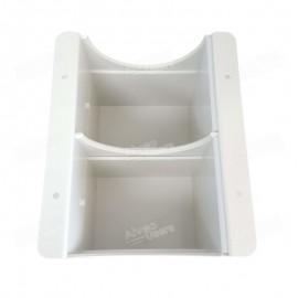 Cajón con soporte para la recepción de harina resultante del proceso de trituración para el equipo Molino CD1