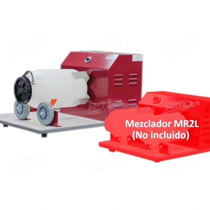 Acondicionador y homogeneizador óptimo de muestras de granos y productos pulverulentos con un volumen de 10 L